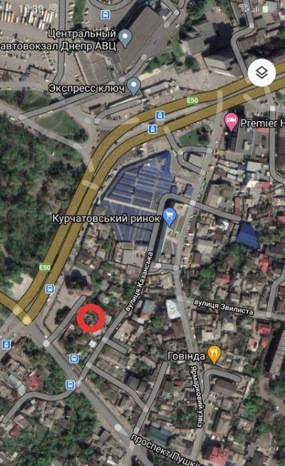 Коммерческая недвижимость 5 соток в Днепре на Курчатова | Hiworking.com